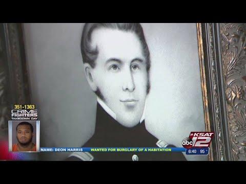 Alamo Hero's Descendants Donate Gifts To Ft. Sam Houston