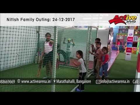 Nitish family outing at Active Arena | Bangalore