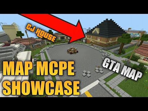 Showcase Map Gta San Andreas Terkeren Di Dunia Minecraft Mcpe