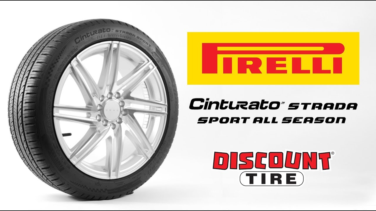 Pirelli Cinturato Strada Sport As Discount Tire Youtube