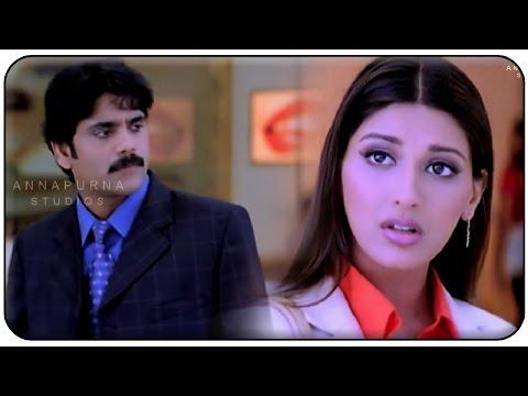 Nagarjuna Warning Sonali Bendre Hilarious Comedy Scene    Manmadhudu Movie
