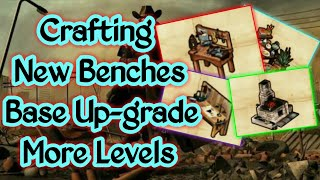 Westland Survival : #19🌲Lv54 Epic Benches Crafting🌲Base Up-grade🌲