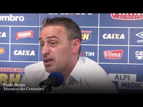 Paulo Bento é apresentado no Cruzeiro e já mostra linha dura na Raposa
