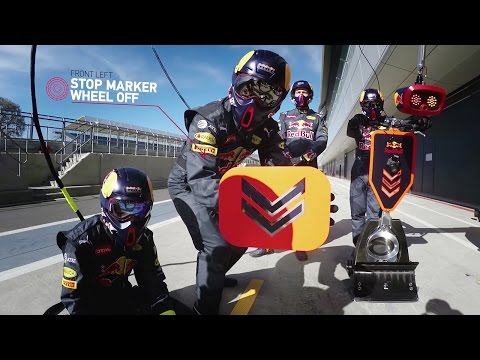 The Unreal Coordination It Takes to Pull off a 2-Second Pit Stop