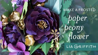 How to Make a Simple Paper Peony Flower