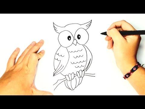 Como Dibujar Un Buho Paso A Paso Como Dibujar Un Buho By