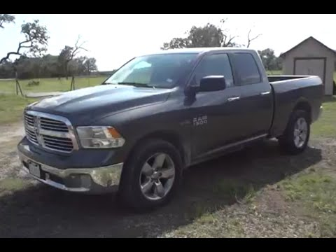 2016 Dodge Ram 1500 Horn Quad Cab Review