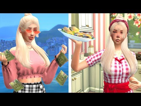 SPOILED BRAT MEETS REALITY   THE SIMS 4: STORY