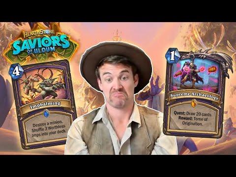 (Hearthstone) Plot Twist Warlock in Saviors of Uldum!