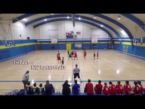 Impact Vs  NW Basketball Feb. 11, 2017