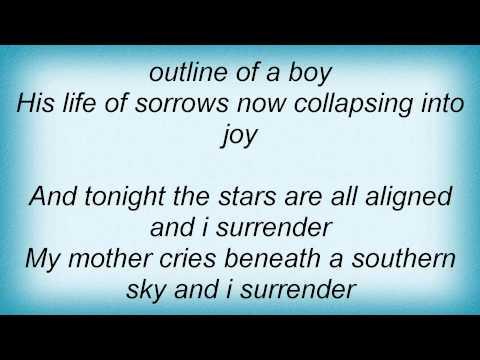 David Sylvian - I Surrender Lyrics