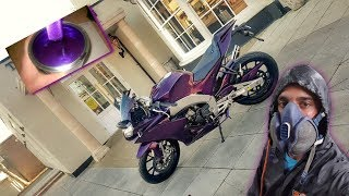 Aprilia RS4 125CC Custom Midnight Purple / Candy Purple