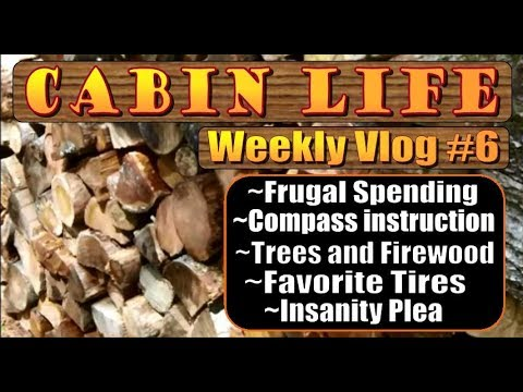 OFF GRID CABIN LIFE  Vlog #6 Were Ready For Winter