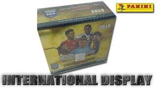 FIFA 365 2019 ADRENALYN XL INTERNATIONAL EDITION DISPLAY BOX UNBOXING