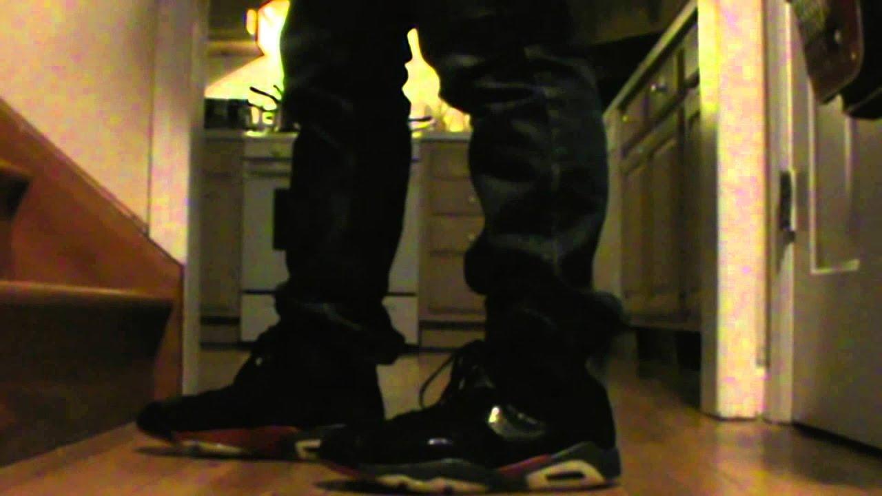 24b4ac94f527a3 Ebay Shoe Pickup On Foot Review- Jordan 6 Detroit Pistons Episode  1 ...