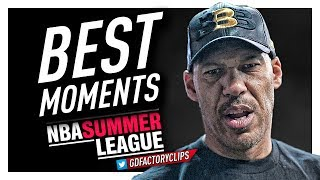 LaVar Ball BEST Moments & Interviews from 2017 Summer League!