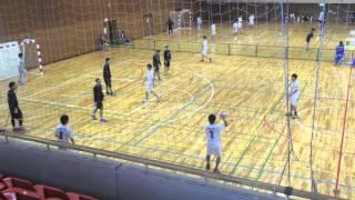2016年02月14日 坪田杯 予選 Nagano Yeti トニセン VS 長野大学 ハンドボール  後半