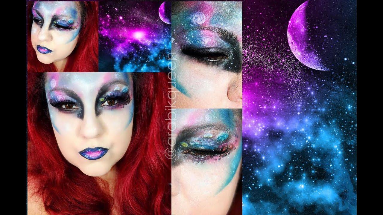 Galaxy Makeup Tutorial / Maquillaje Galactico