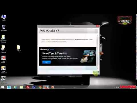Installation And User Guide Corel Videostudio Pro X7 Youtube