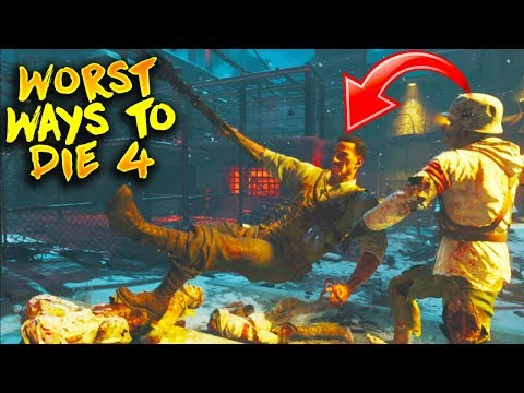 Top 5 Worst Ways To Die in Call of Duty Zombies History #4! (Zombies Top 5)