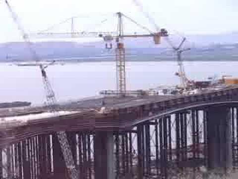 Caltrans new benicia martinez bridge 6 11 06 youtube for Benicia fishing report