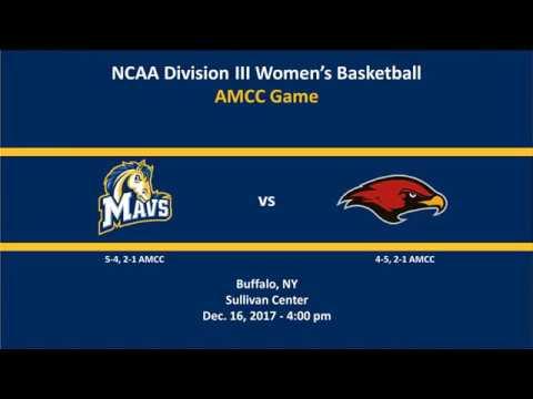 Medaille Women's Basketball vs LaRoche College 12-16-17