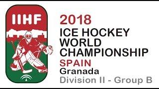   ICE HOCKEY WORLD CHAMPIONSHIP   Divison II - Group B thumbnail