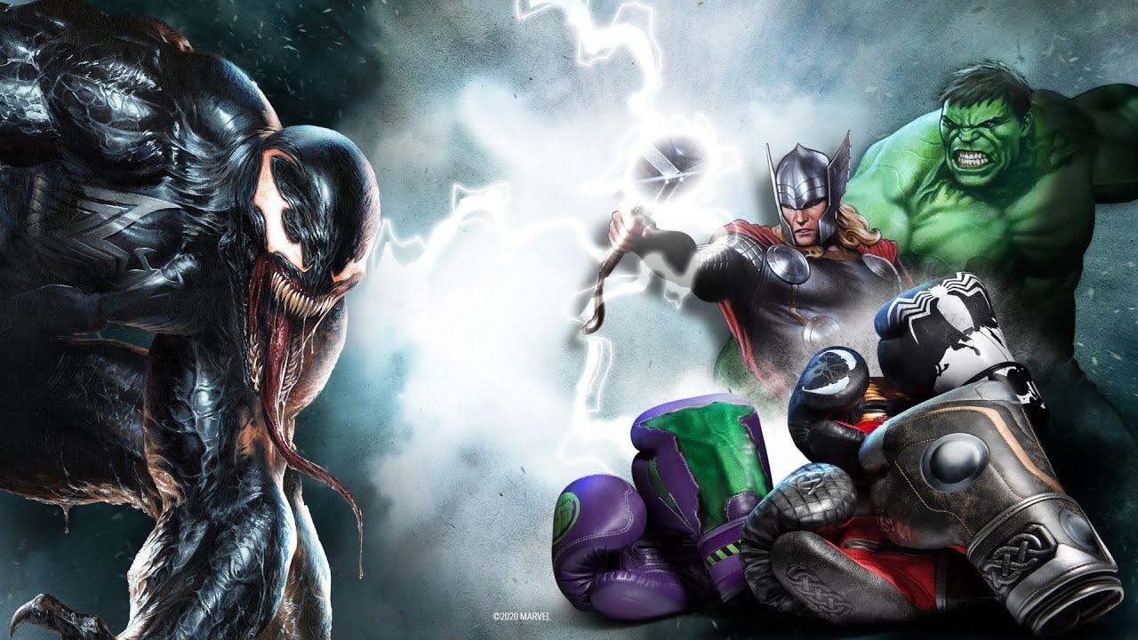 Hayabusa X Marvel Hero Elite | New Boxing Gloves: THOR, HULK, SYMBIOTE