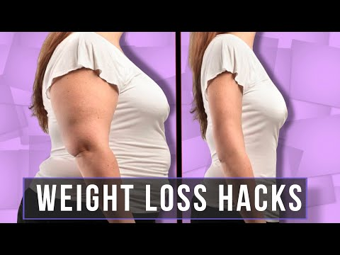 7 Weight Loss Hacks Backed By SCIENCE | How to Lose Weight
