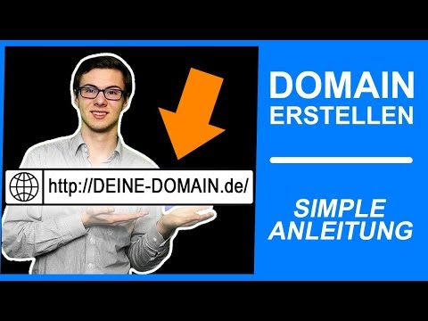 EIGENE DOMAIN ERSTELLEN 【ᐅ URL ERSTELLEN 2019 | Domain Hosting | WordPress Tutorial #001