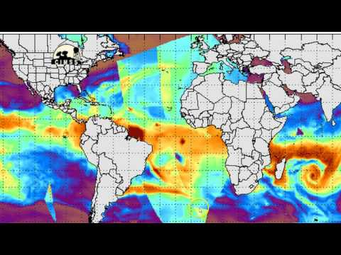 LOOK!  Proof of Massive Microwave Energy Burst Over Atlantic Ocean!