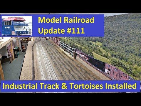 MRUV 111: Industrial Track & Switch Machines Installed