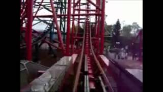 Nova Montanha Russa do Beto Carrero World - The Chiller - On Ride