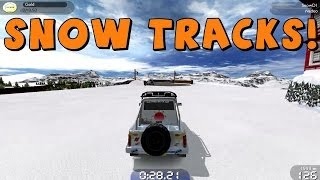 Trackmania United Forever | Snow and Ice Tracks!