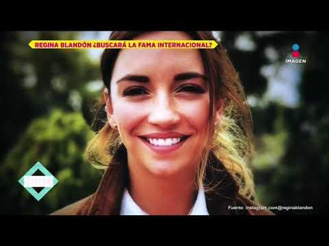 Regina Blandón lista para trabajar en EEUU  De Primera Mano