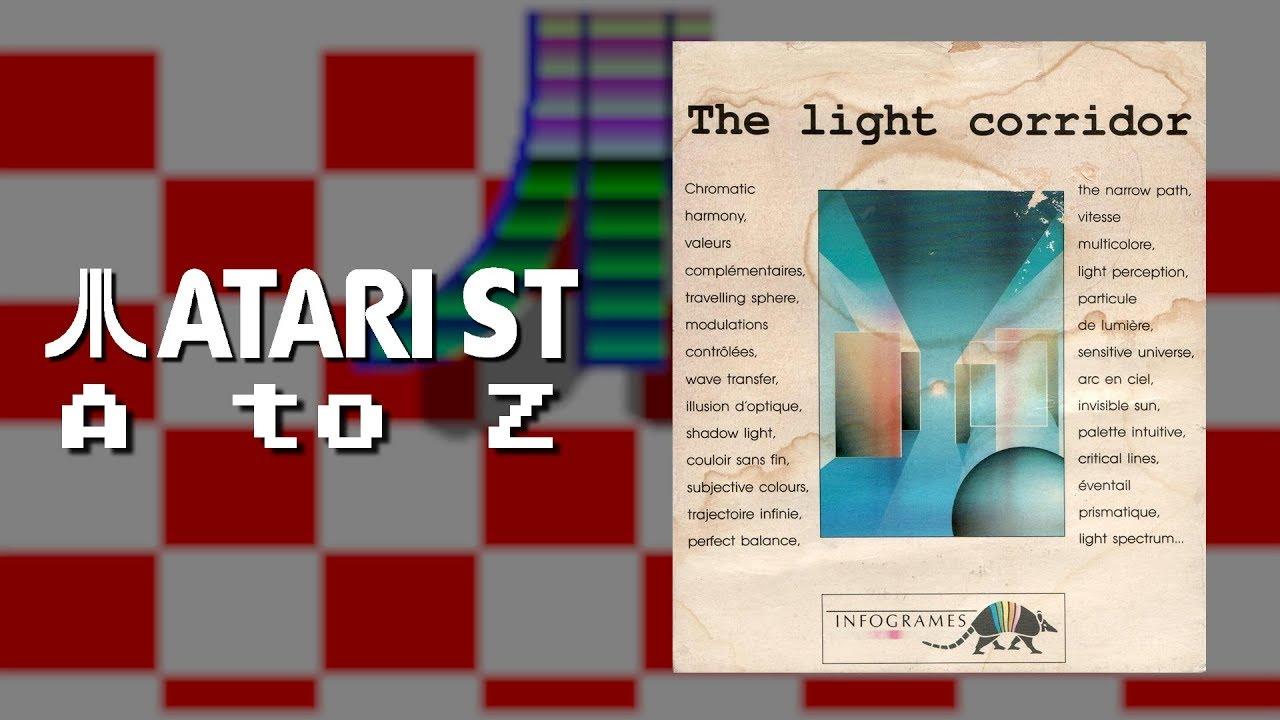 J'AIME LES JEUX FRANÇAIS | The Light Corridor | Atari ST A to Z