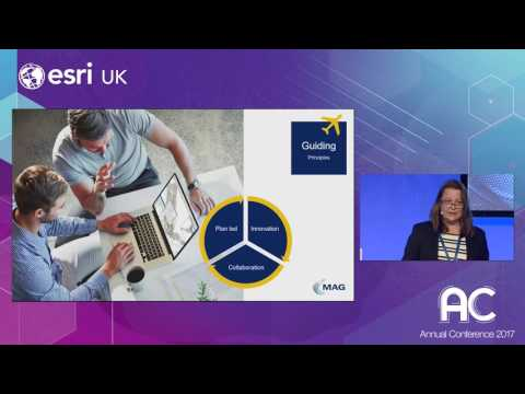 Manchester Airport Group - Enabling a Smarter World - Esri UK Annual Conference 2017