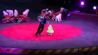 Olate Dog Act 2015  Ringling Brothers Gold Show