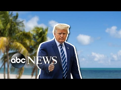 Trump family heads to Florida