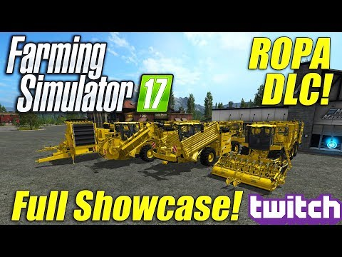 Farming Simulator 17: ROPA DLC Showcase!