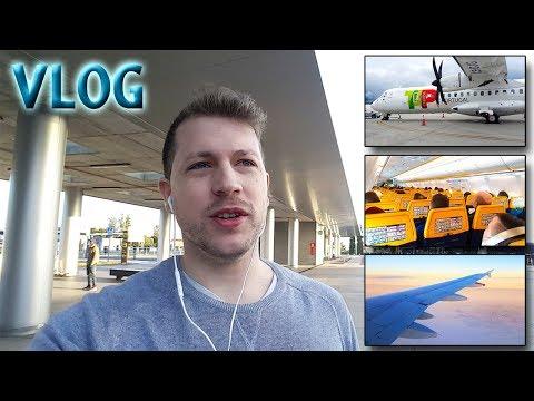 TRIP REPORT VLOG | Coruña-Lisbon-Heathrow-Stansted-Bratislava | TAP + RYANAIR