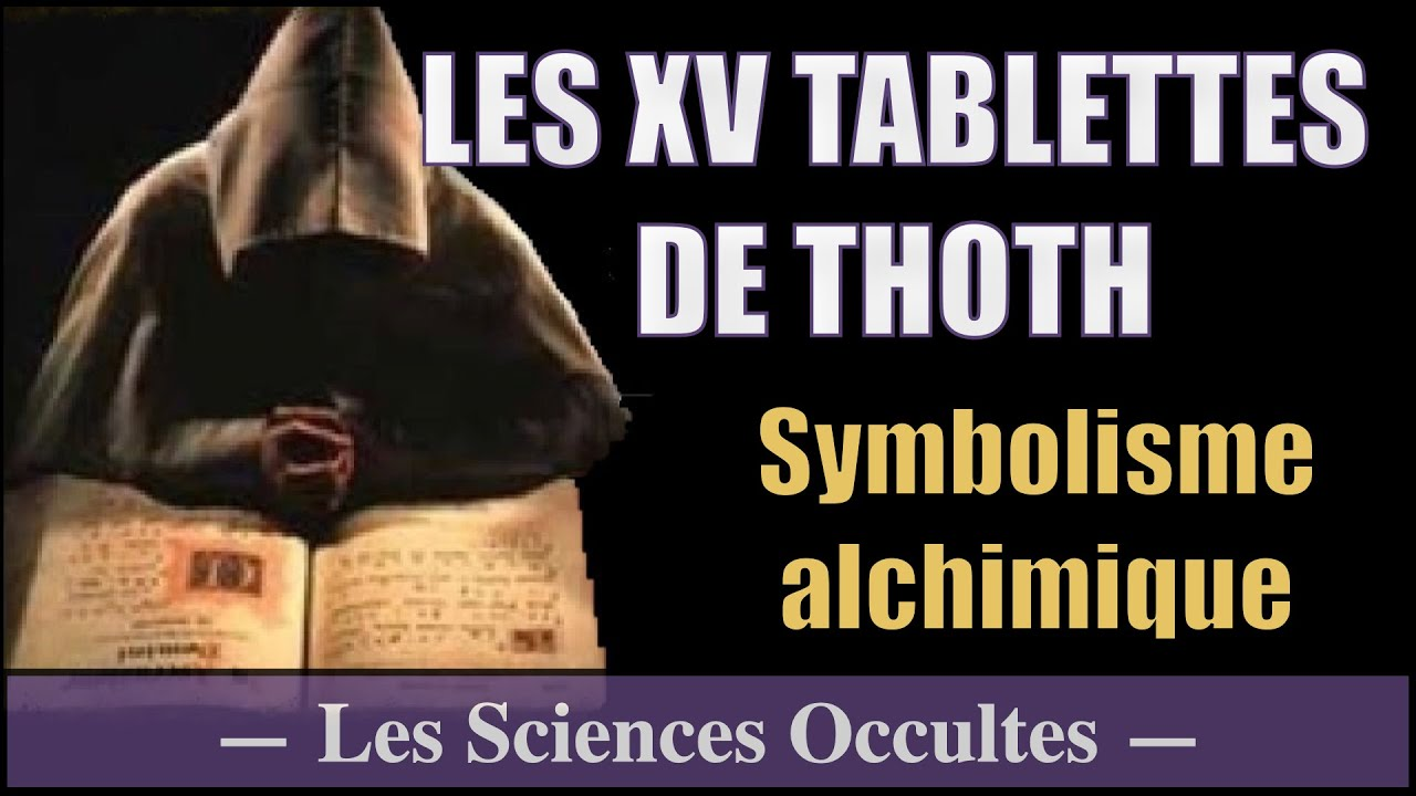 La table d 39 meraude alchimie sciences occultes youtube - Table d alchimie minecraft ...