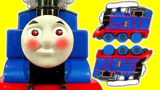 Turbo Flip Thomas The Tank Amazing Toy Train Stunts Crashes Fails