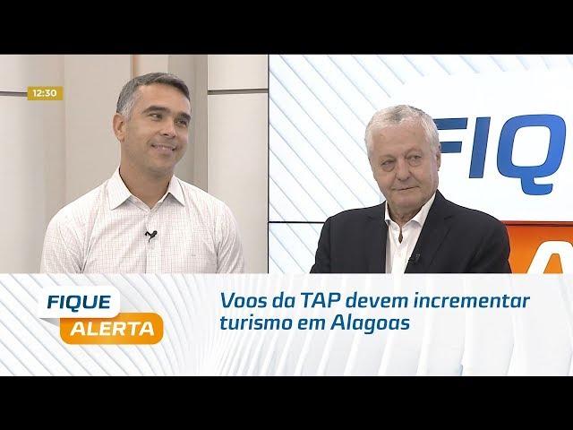 Maceió-Lisboa: Voos da TAP devem incrementar turismo em Alagoas