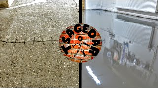 Oprava betonové podlahy / Concrete floor repair