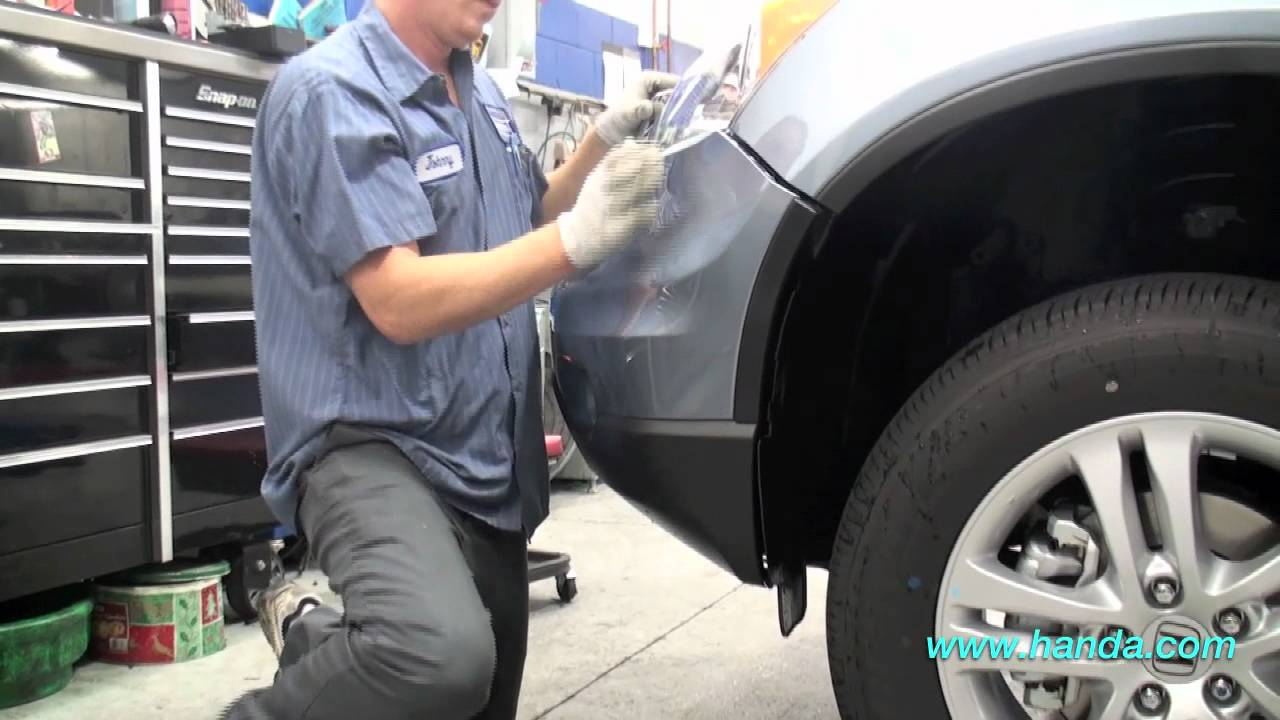 Camry Wiring Diagram Honda Crv Foglights Installation Honda Answers 61 Youtube