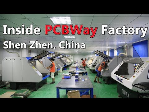 PCB Manufacture And PCB Assembly Inside PCB Factory China - PCBWay