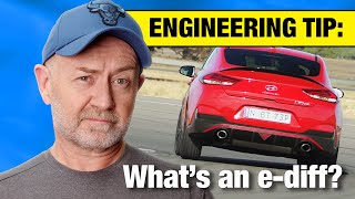 What is an e diff? (Computer controlled limited slip differential) | Auto Expert John Cadogan