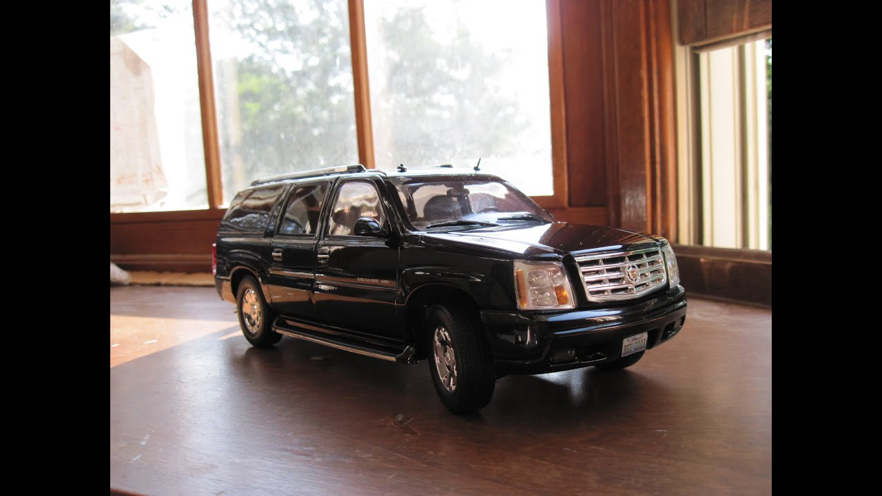Review of 1/18 Cadillac Escalade ESV by Ricko - YouTube