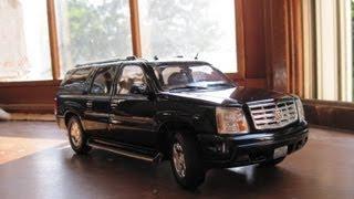 Review of 1/18 Cadillac Escalade ESV by Ricko